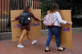 This week, colleges and universities around the country suspended traditional classes due to the coronavirus. Many required students to move out of dorms and head home for the rest of the semester.